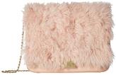 Loeffler Randall Lock Shoulder Pink Pouch