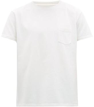 Schnaydermans Arrow-print Cotton-jersey T-shirt - White