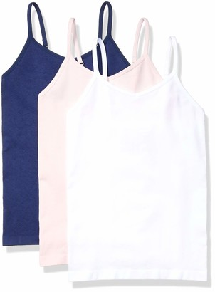 Amazon Essentials Girl's 3-Pack Seamless Camisole