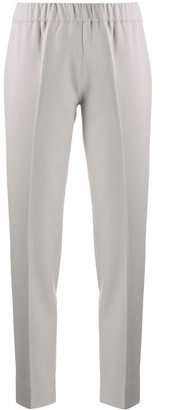 D-Exterior Slim-Fit Tailored Trousers
