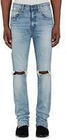 R 13 Men's Deacon Skate Distressed Skinny Jeans