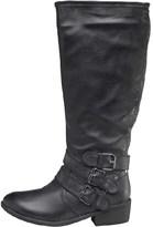 Lotus Womens Fenton Boots Black