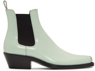 Calvin Klein Blue Western Chris Crosta Chelsea Boots