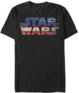 Star Wars Men's Sw USA Flag Graphic T-Shirt