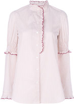 See by Chloe scallop embroidered blouse