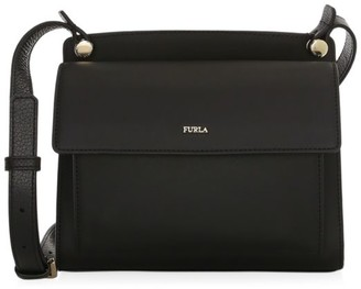 Furla Mini Lady Leather Crossbody Bag