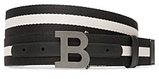 Bally Men's Reversible Mirror B Buckle Belt