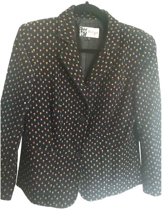 Jaeger Black Cotton Jacket for Women