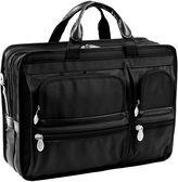 McKlein McKleinUSA Hubbard 15.6 Nylon Double Compartment Laptop Briefcase