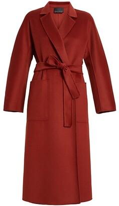 Marina Rinaldi, Plus Size Tempera Double-Face Wool Coat