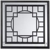 Jla Home Madison Park Gramercy Patterned Print Mirror