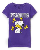 Freeze Peanuts Snoopy & Woodstock Tee - Girls