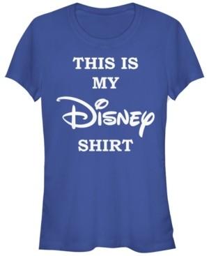Fifth Sun Women's Disney Logo My Disney Shirt Short Sleeve T-shirt