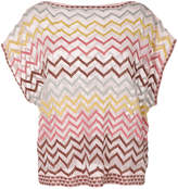 Missoni patterned top