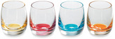 Royal Doulton R) Pop In For Drinks 2 1/4-Ounce Assorted Color Shot Glasses - Set of 4