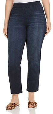 Liverpool Los Angeles Plus Liverpool Plus Meredith Slim Ankle Jeans in Westport