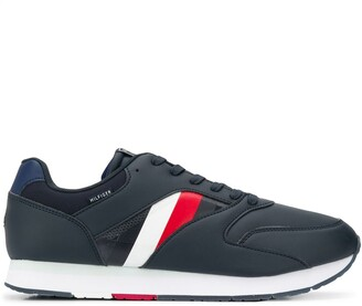 Tommy Hilfiger Logo Print Low Top Sneakers
