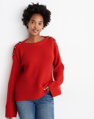 Madewell Calloway Boatneck Pullover Sweater