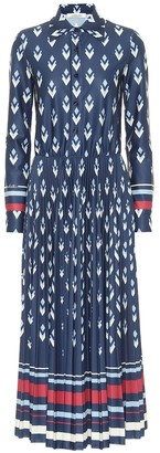 Valentino printed jersey shirt dress