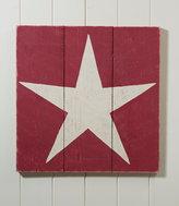 L.L. Bean Wooden Wall Art, Star