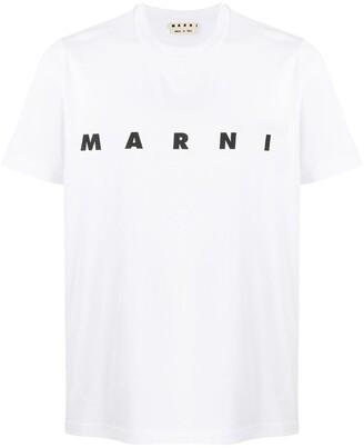 Marni logo-print cotton T-shirt
