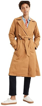 Madewell Sedgwick Trench Coat (Toffee) Women's Clothing