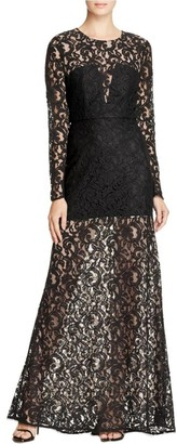 BCBGMAXAZRIA Azria Women's Veira Knit Evening Dress