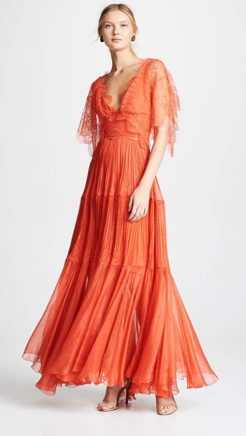 Maria Lucia Hohan Tarika Metallic Dress