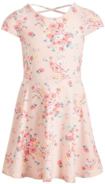 Epic Threads Toddler Girls Daisy-Print Fit & Flare Dress