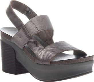 OTBT Indio Block Heel Slingback Sandal