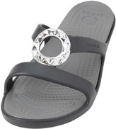Crocs Women's Sanrah Studded Circle Sandal 8134518