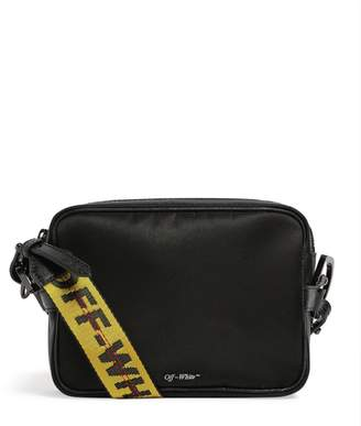 Off-White Off White Leather Industrial Cross-Body Bag