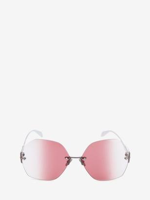 Alexander McQueen Hexagonal Jewel Frame
