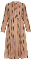 Rachel Comey New Hue ikat-print cotton-voile midi dress
