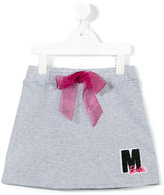 MSGM lace-up skirt - kids - Cotton - 10 yrs