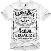 E1syndicate T-Shirt Cannabis Weed Ganja Sativa Indica Bong Hanf Hemp Samen S/M/L/Xl
