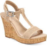 Charles by Charles David Law Strappy Platform Wedge Sandals Women's Shoes