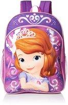 Disney Little Girls Sofia 16 Inch Backpack