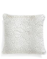 Giraffe at Home 'Snow Leopard' Faux Fur Throw Pillow