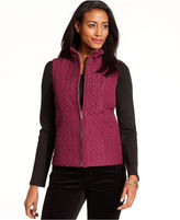 Charter Club Jacket, Sleeveless Quilted Vest