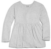 Splendid Girls' Lace Panel Top - Little Kid