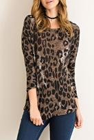 Entro Cheetah Print Top