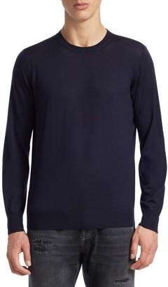 Brunello Cucinelli Crewneck Elbow Patch Sweater