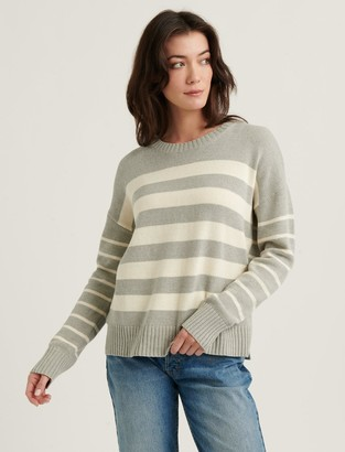 Mix Stripe Pullover Sweater
