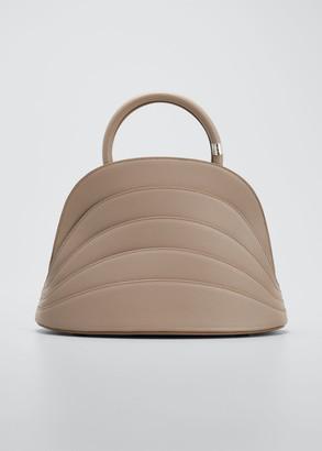Gabo Guzzo Millefoglie J Leather Top-Handle Bag