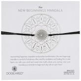Dogeared New Beginnings Mandala Center Star Silk Bracelet