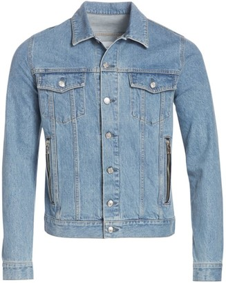Balmain Embroidered Denim Jacket
