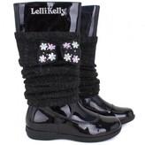 Lelli Kelly Kids Black leg warmer boots