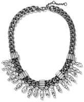Banana Republic Deco Crystal Spray Necklace