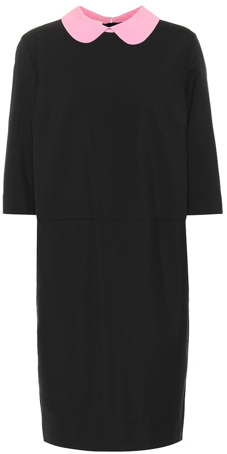 Marni Collared wool dress